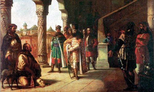 Mihai Viteazul si tabara de lupta  din  Dobrota, Cosarele si Priseaca